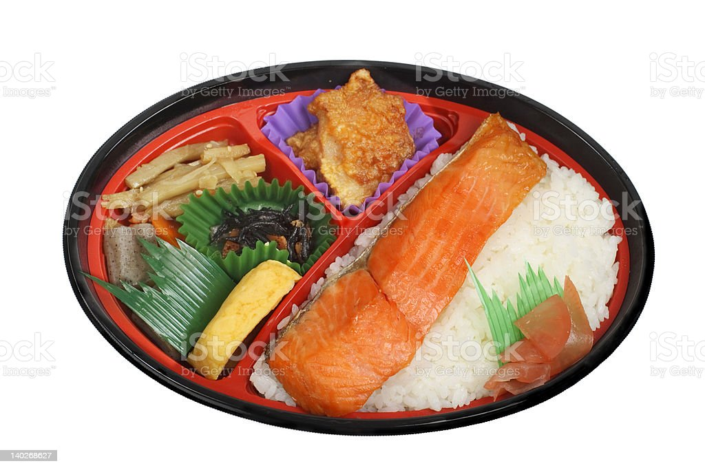 Japanese lunch box 1 royalty-free stock photo
