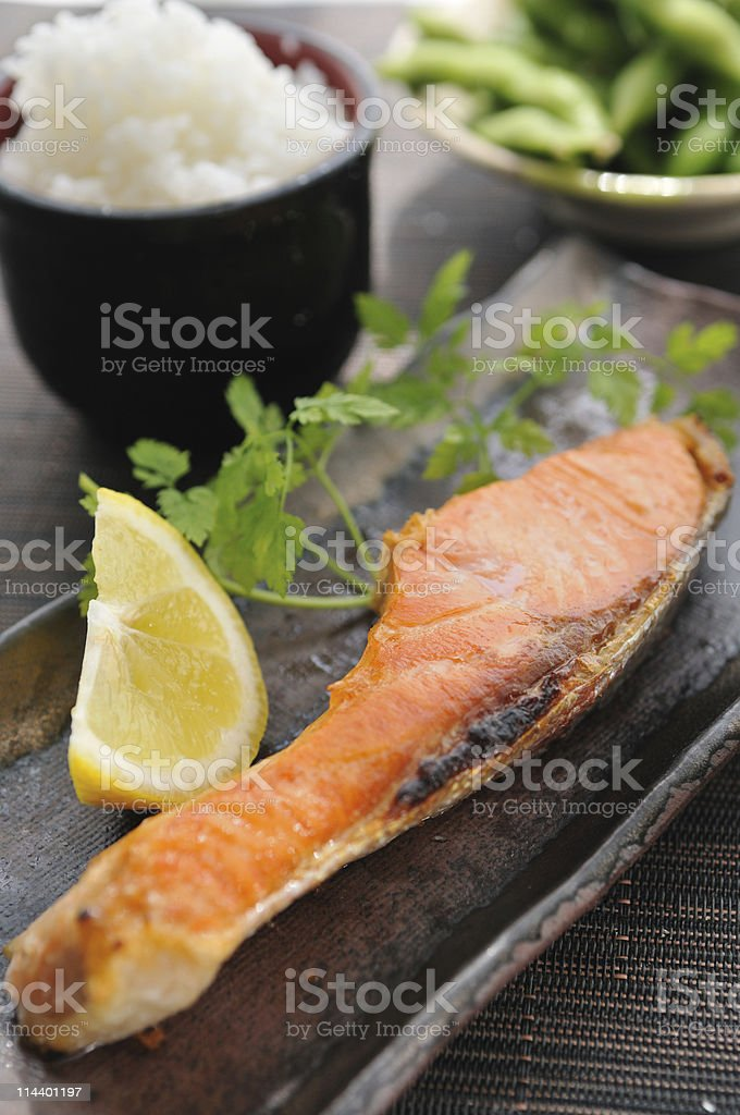 Japanese Lunch royalty-free stock photo