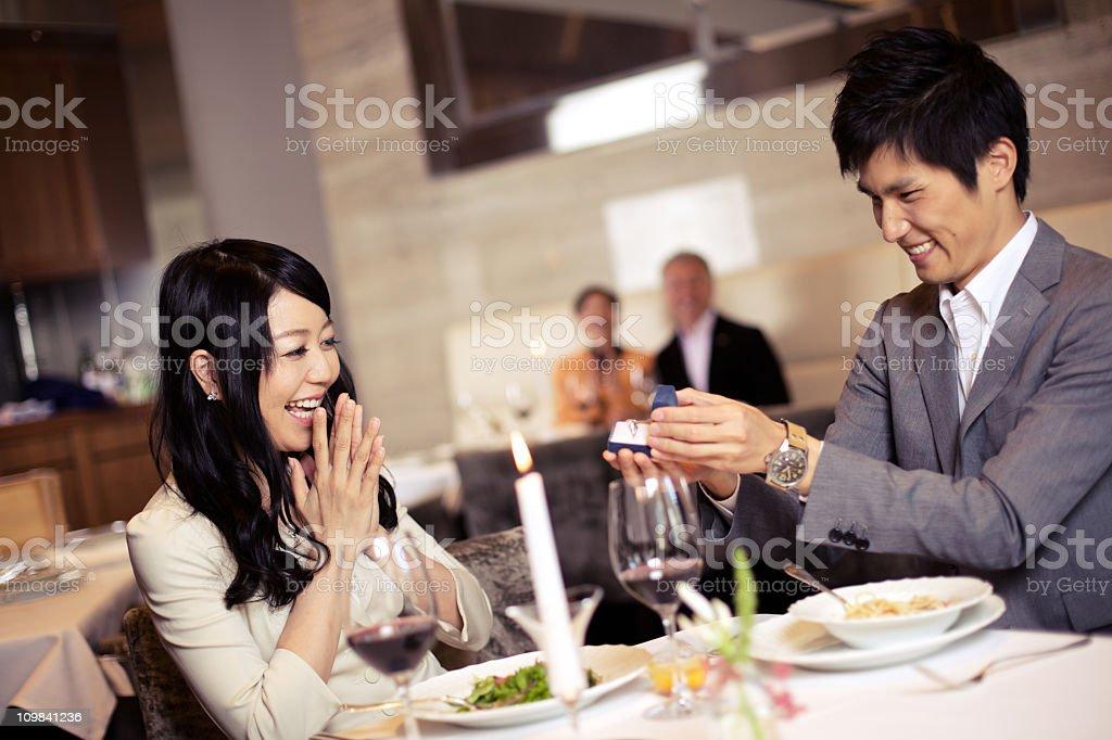 日本のカップル嵌 ストックフォト