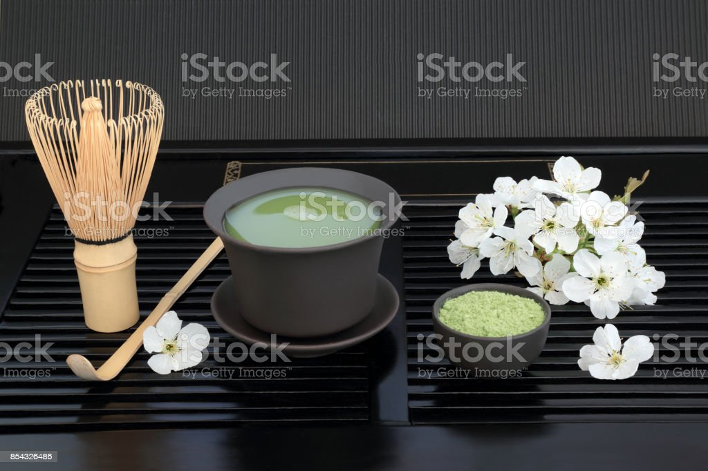 Japanese Matcha Tea stock photo