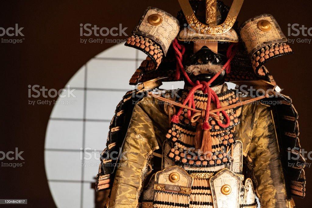 Japanese Medieval Samurai Armor Stock Photo Download Image Now Istock