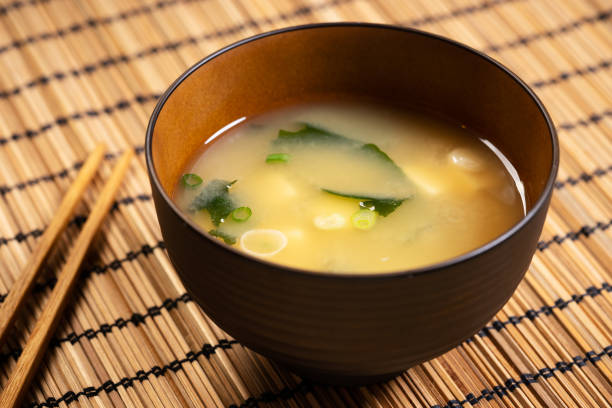 Japanische Miso-Suppe – Foto