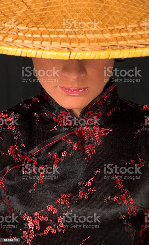Japanese model theme 3 royalty-free stock photo