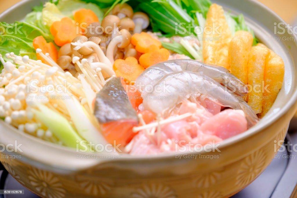Japanese Nabe Hot Pot stock photo