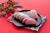 日本の新年、おせち料理、蒲鉾