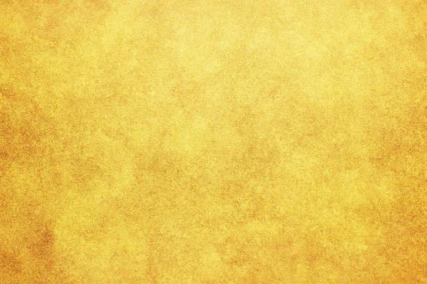 日本の新年ヴィンテージゴールドカラー紙の質感やグランジの背景 - 和紙 ストックフォトと画像