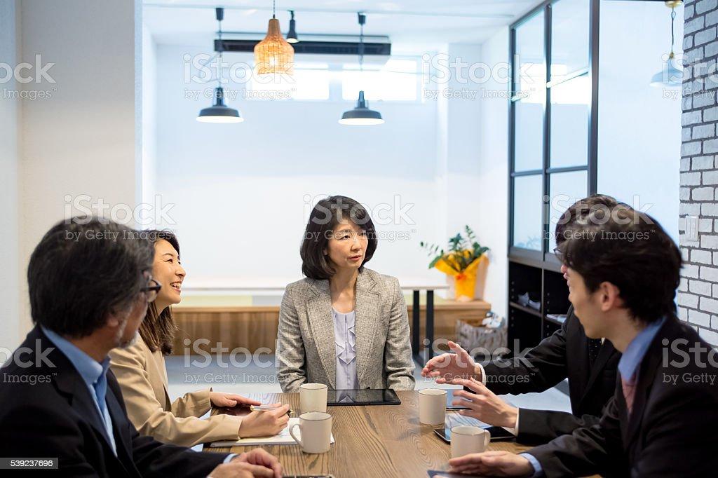日本のオフィス ストックフォト
