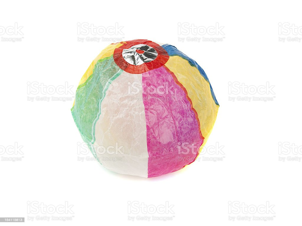 Japanese Paper Ball stock photo