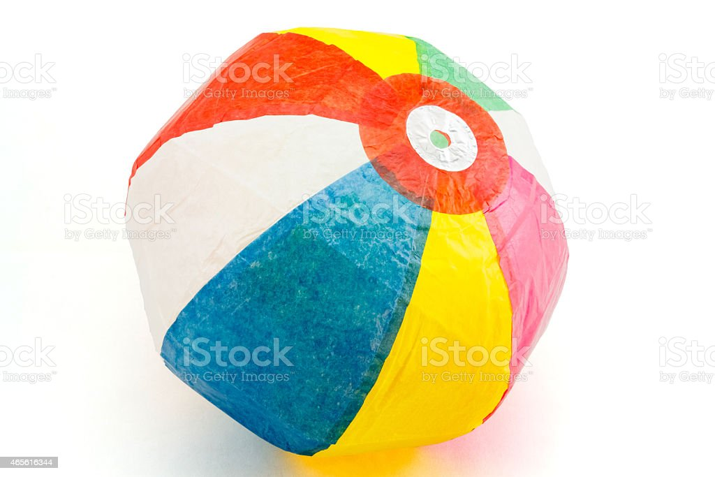 Japanese Paper Balloon -Kami Fusen stock photo