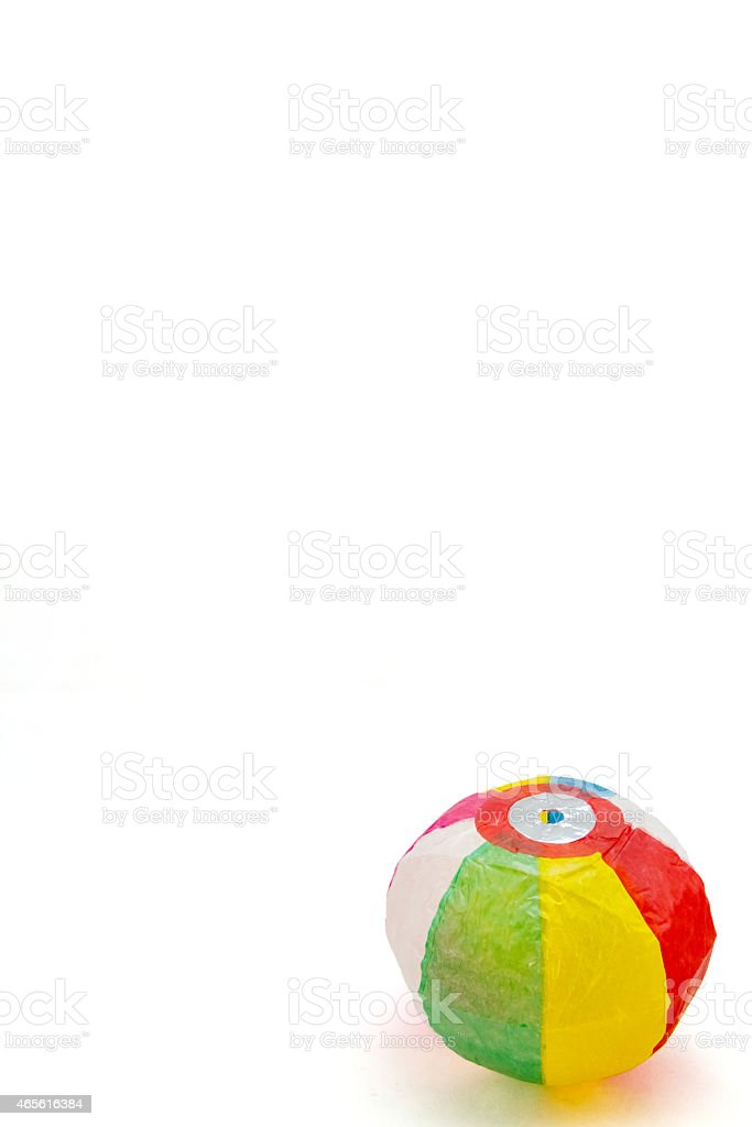 Japanese Paper Balloons -Kami Fusen stock photo