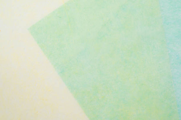 japanese paper - kelly green stock pictures, royalty-free photos & images