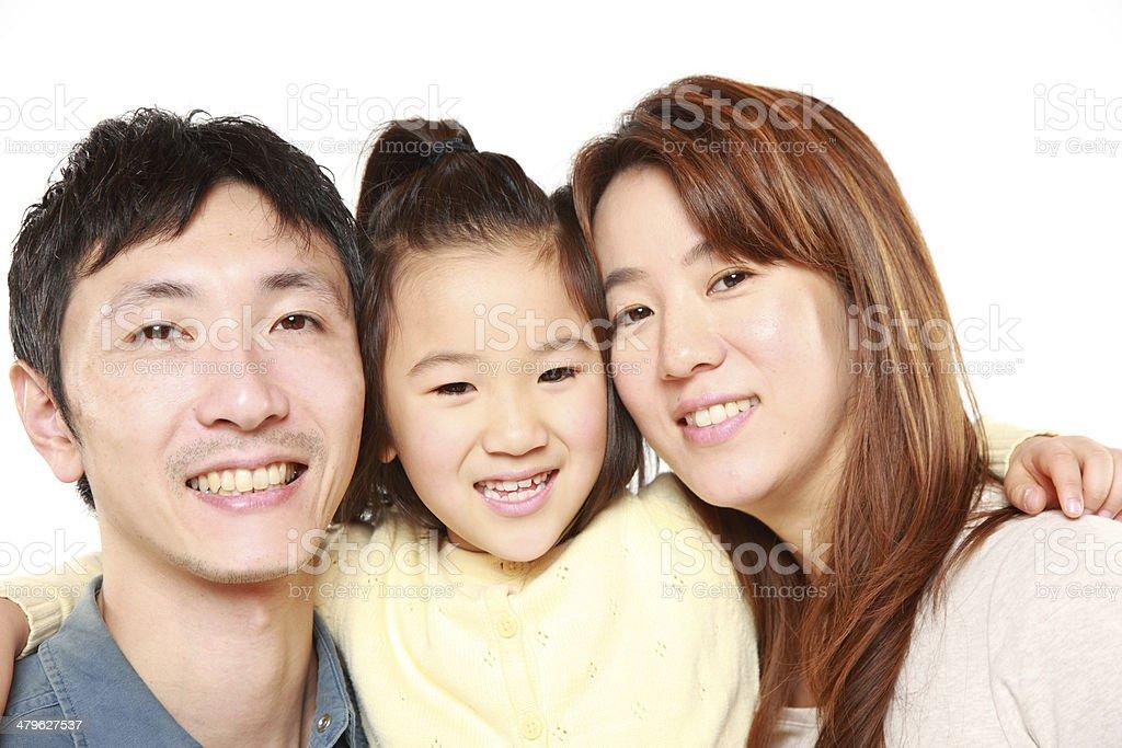 日本の親と娘 ストックフォト