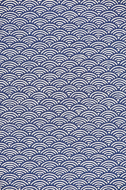 japanese pattern - japanese culture stock pictures, royalty-free photos & images