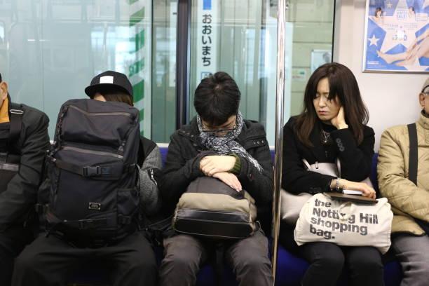 Japaner schlafen – Foto