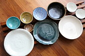 Japanese Pottery - Bowls & Plates