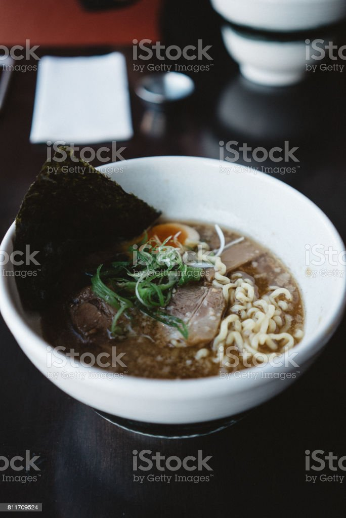 Japanese Ramen stock photo