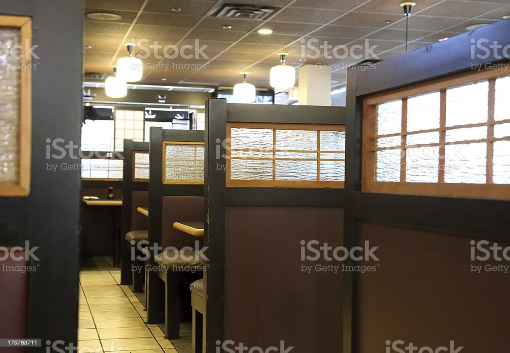 Japanese restaurant interior stock photo more pictures