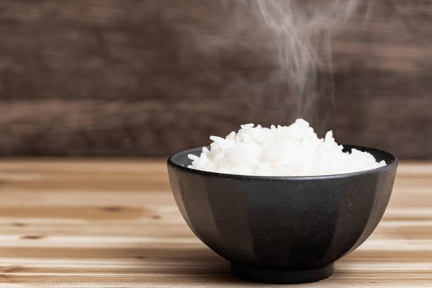 arroz japonés - arroz comida básica fotografías e imágenes de stock