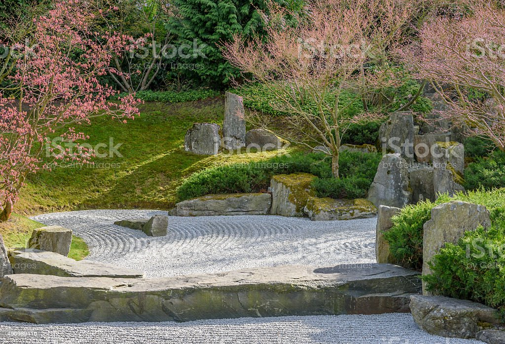 Japanese Garden of Merging Water in Germany. Creator is Shunmyo...