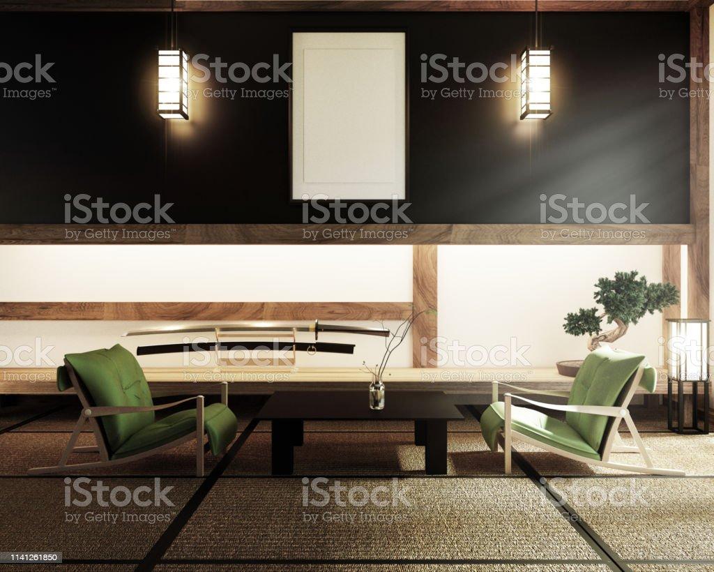 Photo libre de droit de Chambre Japonaise Style Zen De Kyoto ...