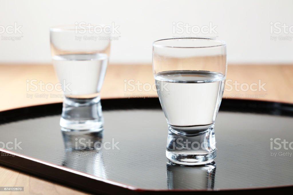 日本清酒 免版稅 stock photo