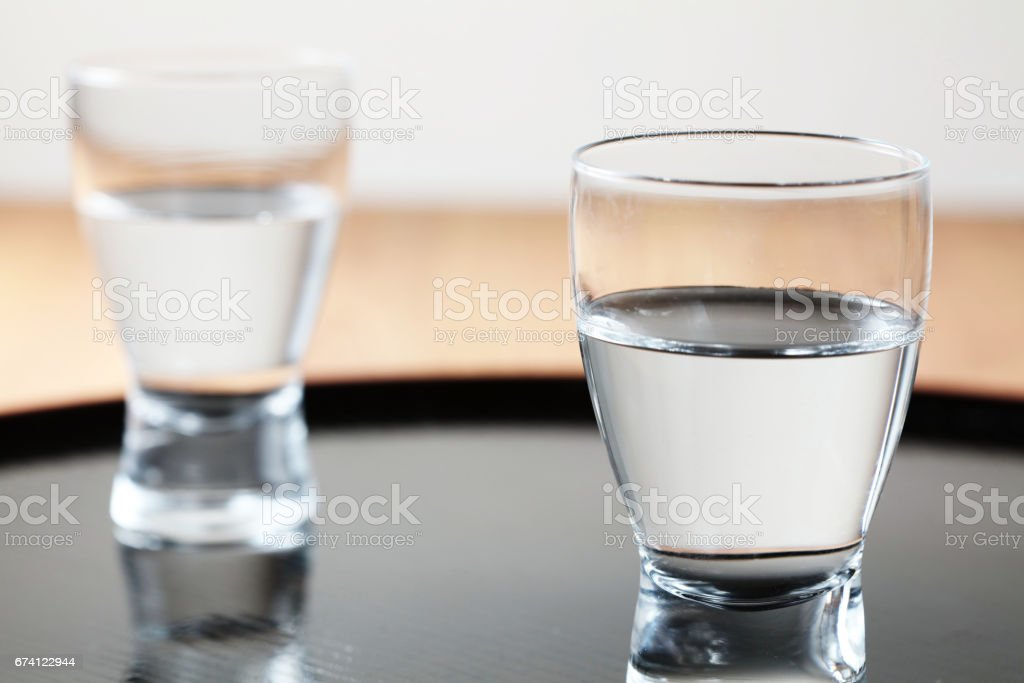 Japanese SAKE royalty-free stock photo