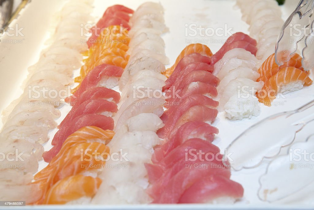 Japanese Sashimi royalty-free stock photo