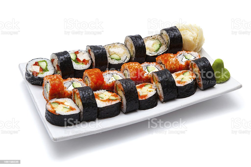 Japanese seafood royalty-free stock photo