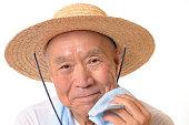 日本の高齢者は発汗