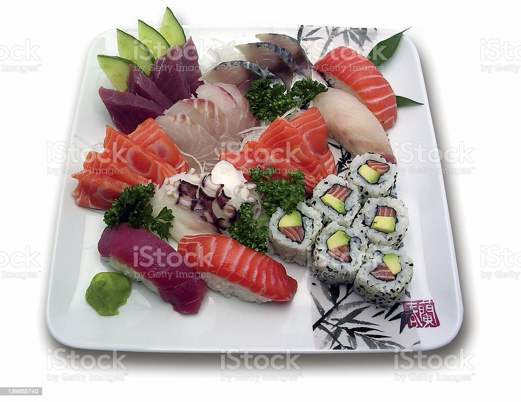 Japanese specialities royalty-free stock photo