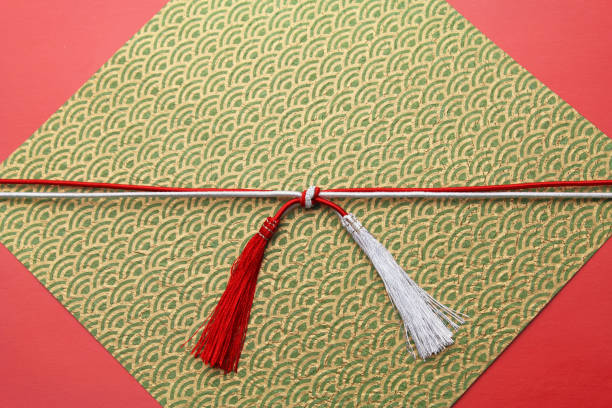 japanese style image.japanese patterned image. - мидзухики стоковые фото и изображения