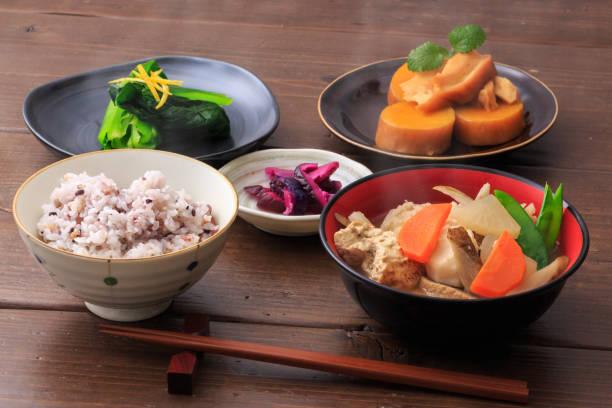 Style japonais de cuisine végétarienne - Photo