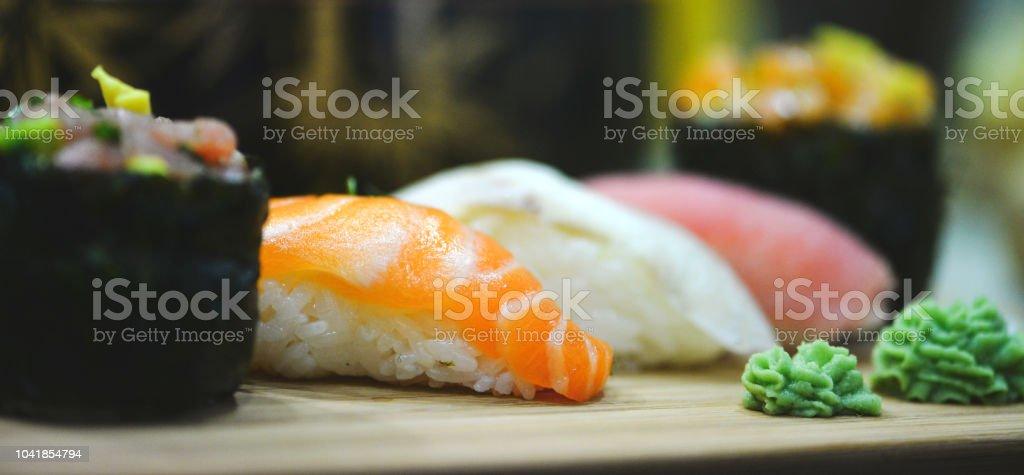Japanisches sushi – Foto