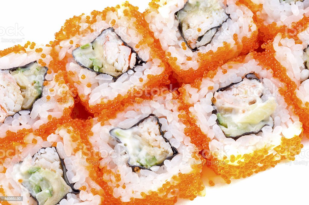 Japanese Sushi royalty-free stock photo