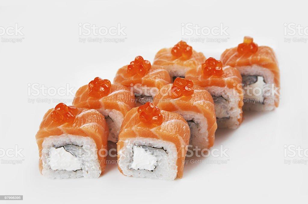 Japanese sushi royalty free stockfoto