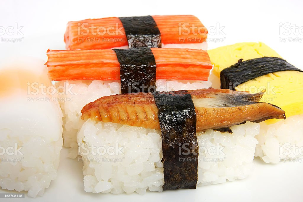 japanese sushi traditional food royalty-free stock photo