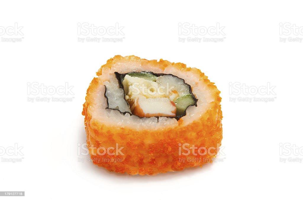 japanese sushi with rice royalty-free stock photo