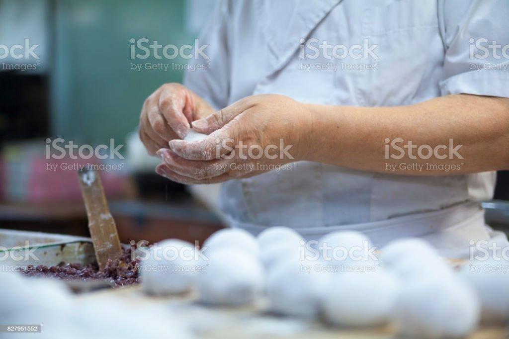 Japanese Sweet Master stock photo