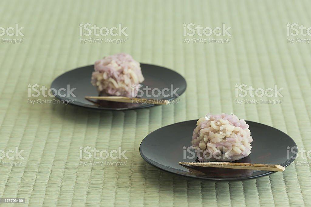 Japanese sweet stock photo