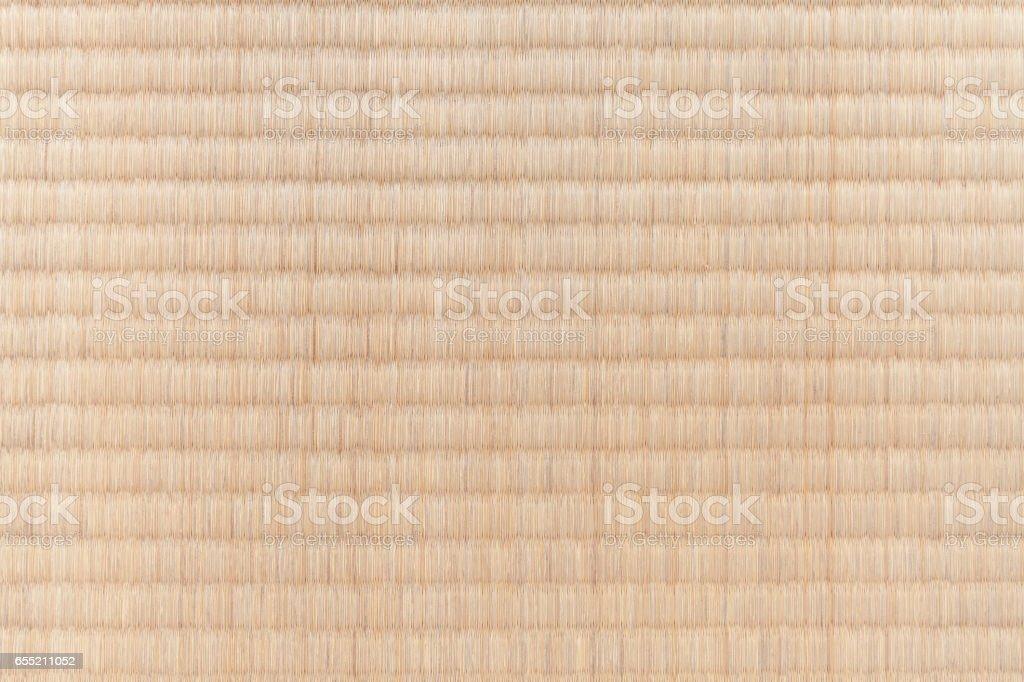 Japanese tatami flooring mat stock photo