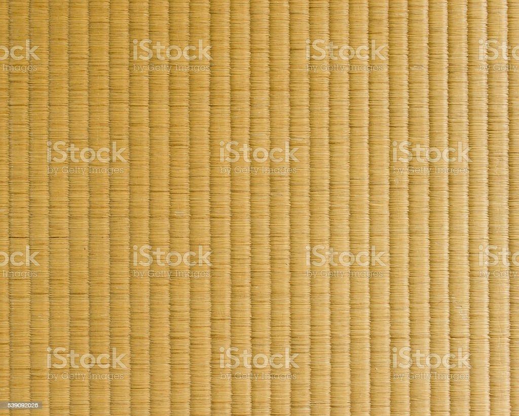 Japanese Tatami Mat stock photo