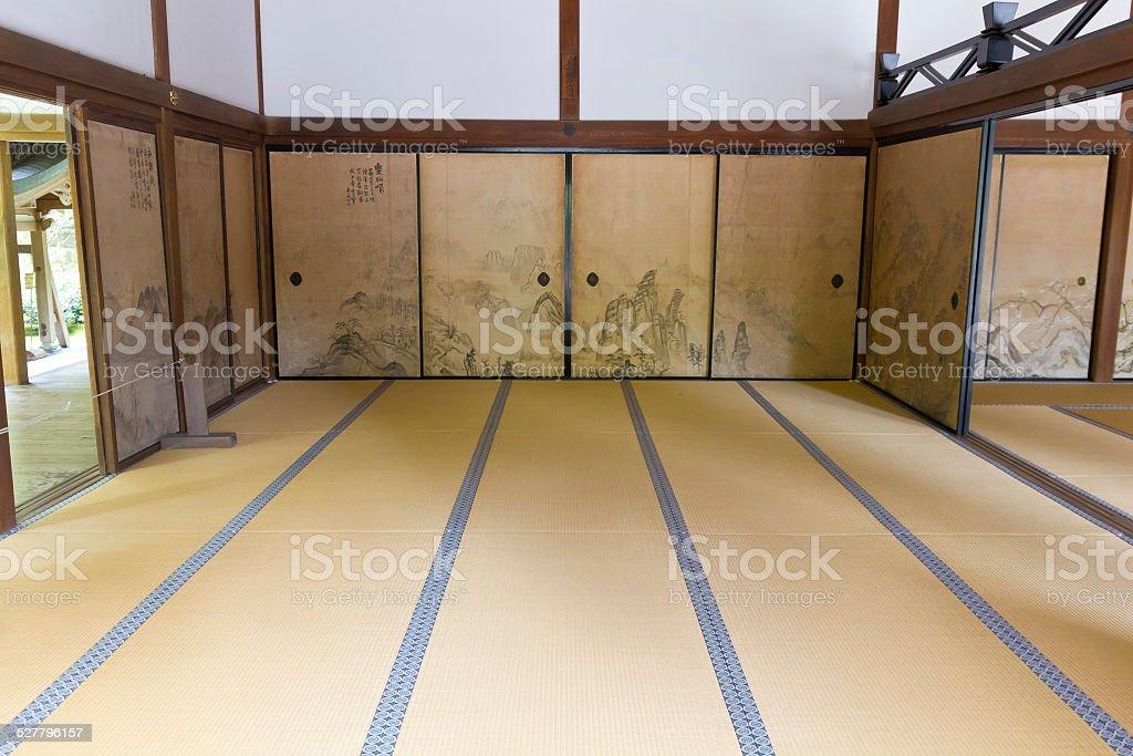 Japanese tatami stock photo