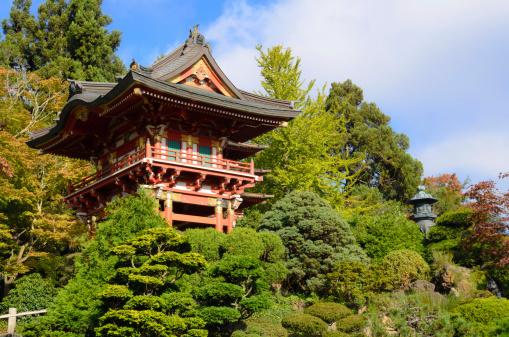 Japanese Tea Garden At Golden Gate Park In San Francisco Stock Photo - Download Image Now