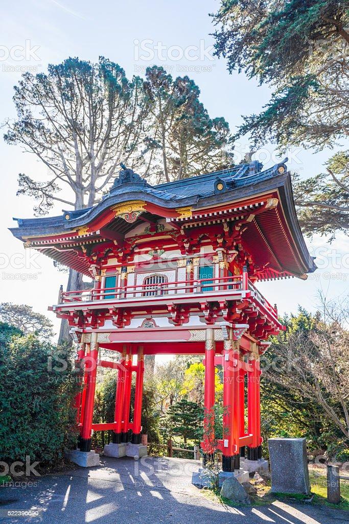 Japanese Tea Garden in San Francisco stock photo