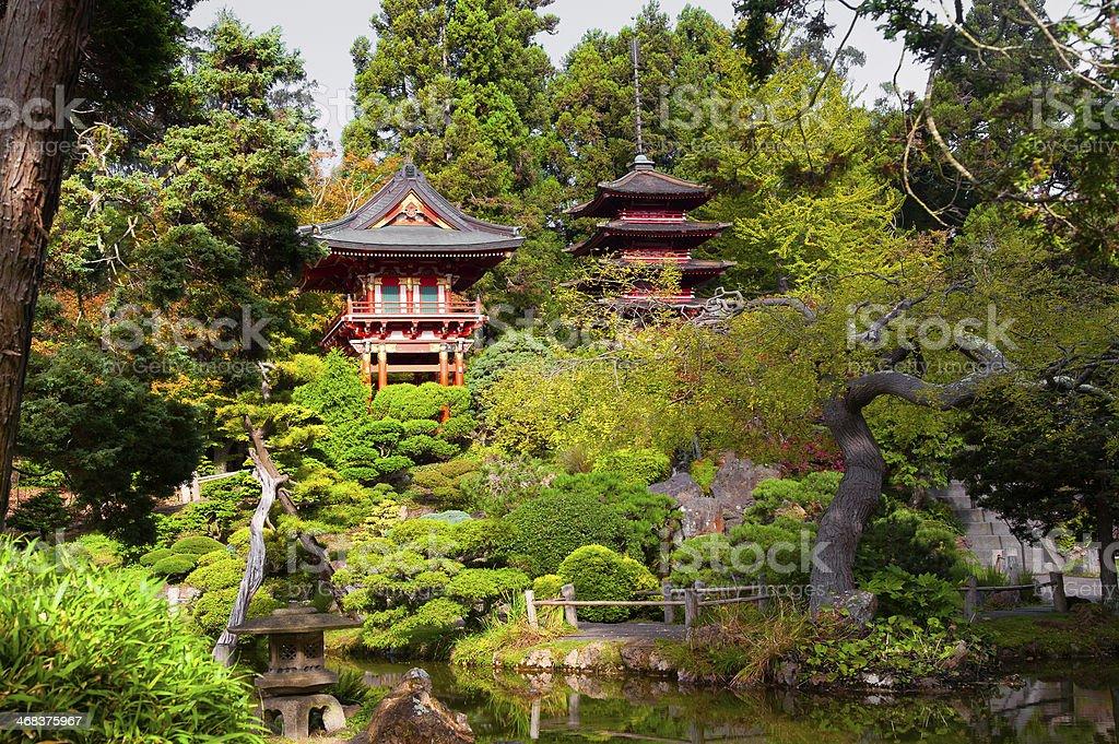 Japanese Tea Garden stock photo