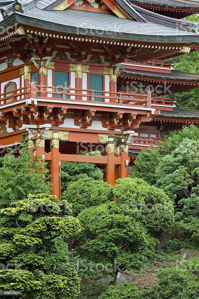 Japanese Tea Garden royalty-free stock photo