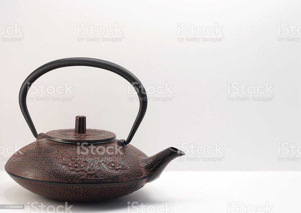 Japanese Teapot royalty-free stock photo