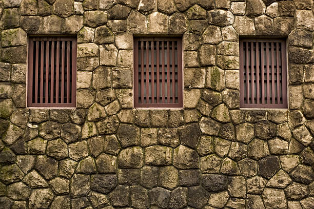 Japanischer Tempel Fenster – Foto