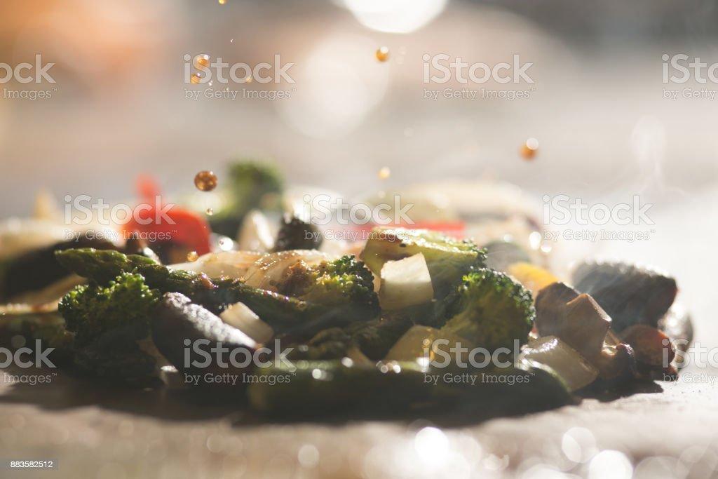 Japanese Teppanyaki stock photo