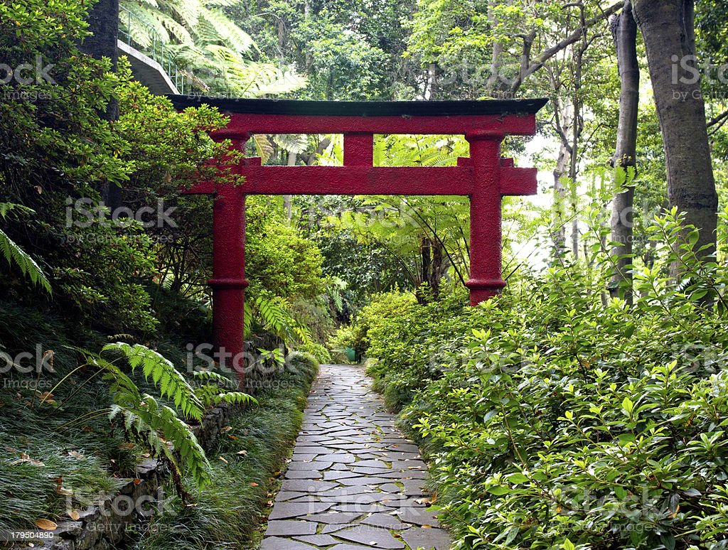 Japanese Garden Gate Pictures, Images And Stock Photos